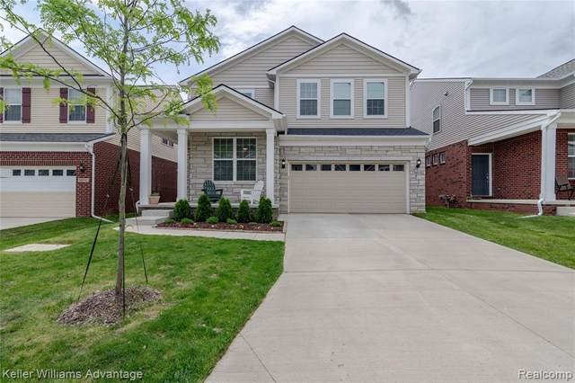 18918 Denali Circle, Northville Twp, MI 48168 (#2200047907) :: GK Real Estate Team