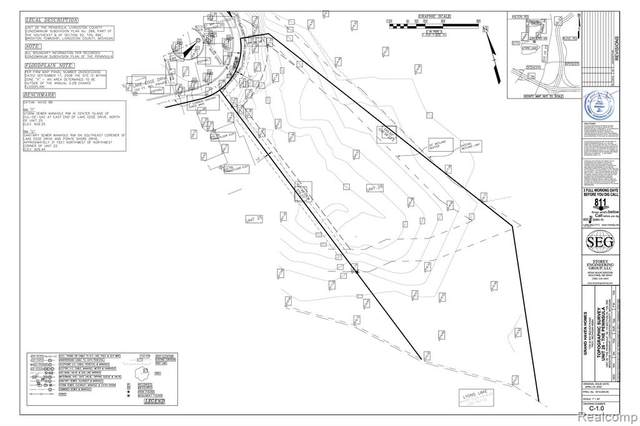 Lot 26 Lake Edge Drive, Brighton Twp, MI 48114 (#2200048044) :: Duneske Real Estate Advisors