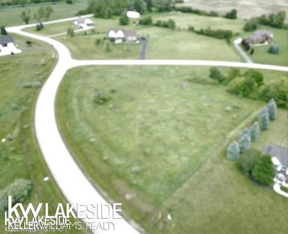 Parcel 7 Whtiney Erin Ct, Almont Twp, MI 48003 (#58050015503) :: Novak & Associates
