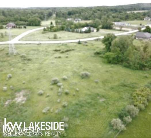 Parcel 14 Whitney Erin Ct, Almont Twp, MI 48003 (#58050015508) :: Novak & Associates