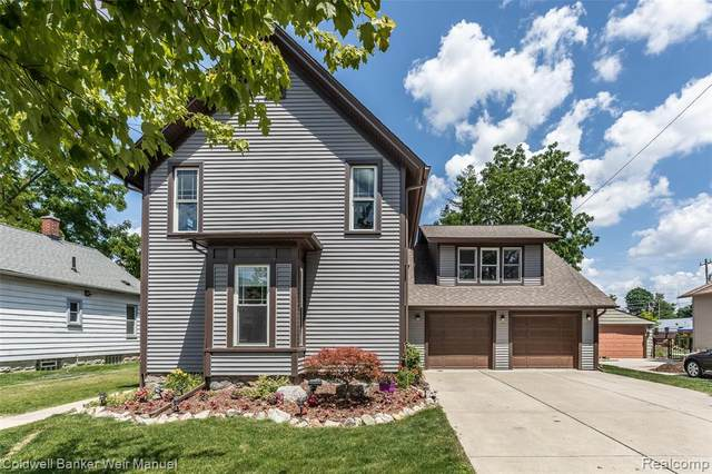 415 Yerkes Street, Northville, MI 48167 (#2200048211) :: GK Real Estate Team