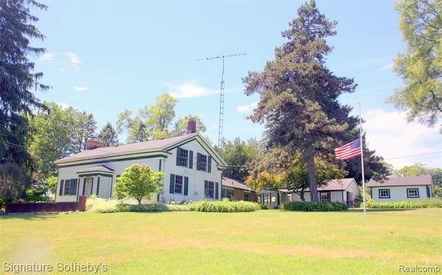 9485 Eagle Road, Rose Twp, MI 48350 (#2200048755) :: The Alex Nugent Team | Real Estate One