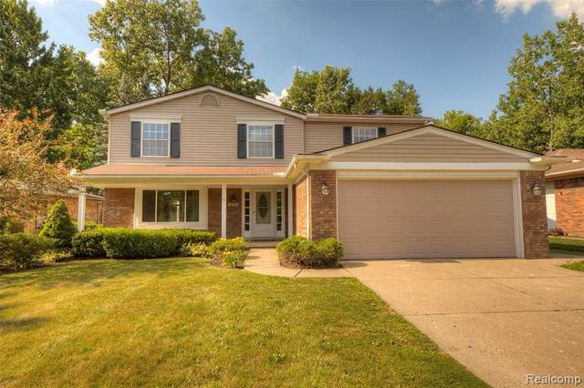 46394 Bartlett Drive, Canton Twp, MI 48187 (#2200049302) :: The Alex Nugent Team | Real Estate One
