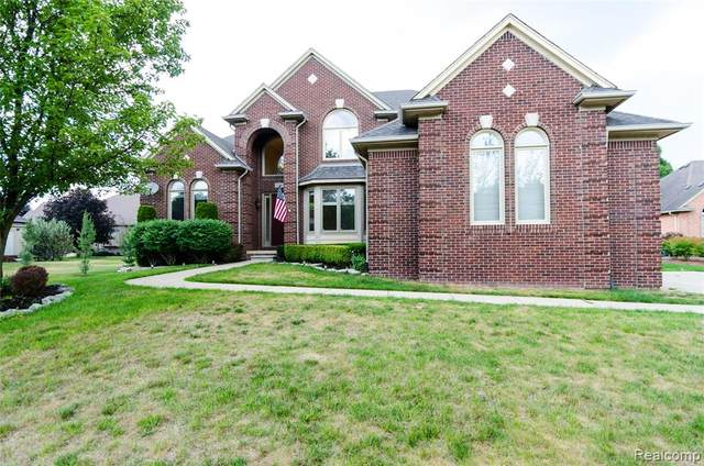 53590 Desano Drive, Shelby Twp, MI 48315 (#2200049475) :: The BK Agency