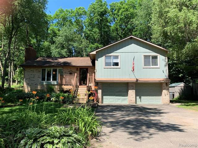 429 Granda Vista Drive, Milford Twp, MI 48380 (#2200049766) :: The Alex Nugent Team | Real Estate One