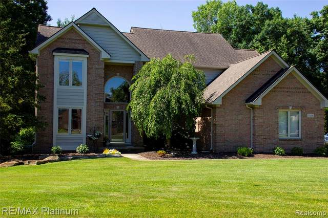 7558 E. Lake Drive, Genoa Twp, MI 48114 (#2200049992) :: Alan Brown Group