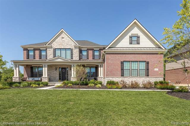 20825 Dunhill Court, Novi, MI 48167 (#2200050112) :: Novak & Associates