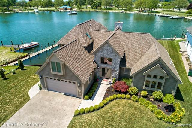 38017 Huron Pointe Drive, Harrison Twp, MI 48045 (MLS #2200050255) :: The Toth Team