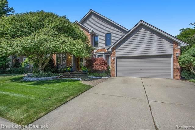 46407 Jackson Drive, Macomb Twp, MI 48044 (#2200050369) :: The Alex Nugent Team | Real Estate One