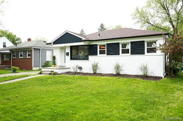 315 Midland Blvd, Royal Oak, MI 48073 (#2200050389) :: The Alex Nugent Team   Real Estate One