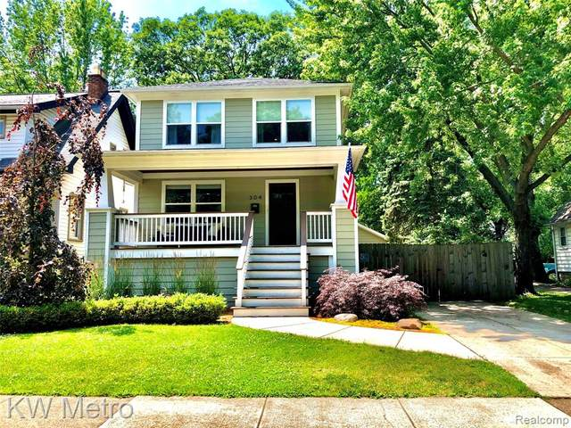 304 Oakdale Street, Royal Oak, MI 48067 (#2200050434) :: The Alex Nugent Team   Real Estate One