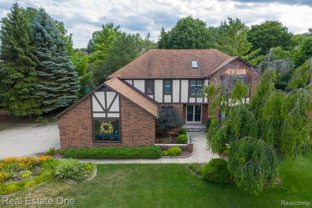 663 Snowmass Drive, Rochester Hills, MI 48309 (#2200050442) :: The Alex Nugent Team | Real Estate One