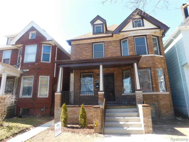2427 Townsend Street, Detroit, MI 48214 (#2200050550) :: RE/MAX Nexus