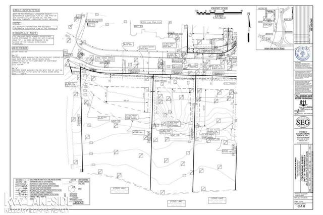 Lot 23 Lake Edge, Brighton Twp, MI 48114 (MLS #58050016289) :: The John Wentworth Group