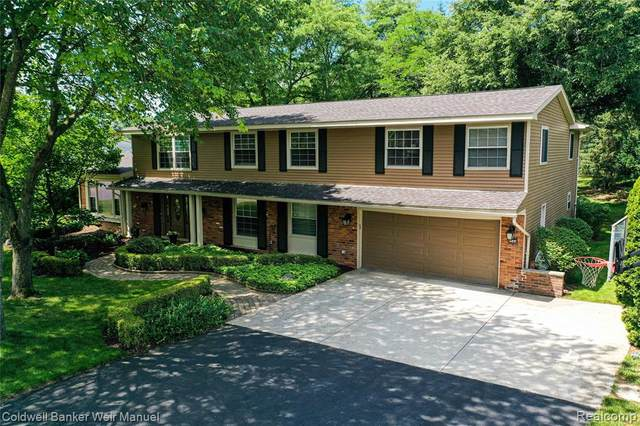 4544 Valleyview Dr, West Bloomfield Twp, MI 48323 (#2200050677) :: The Alex Nugent Team | Real Estate One