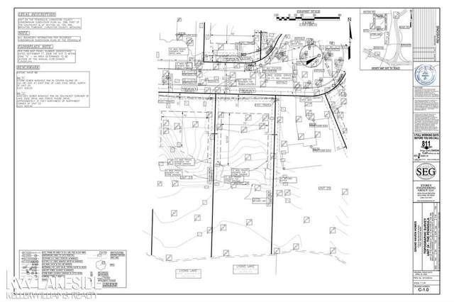 Lot 24 Lake Edge, Brighton Twp, MI 48114 (#58050016295) :: Duneske Real Estate Advisors