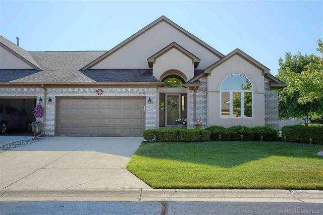 52230 Mitchell Ln, Macomb Twp, MI 48042 (#58050016318) :: The Alex Nugent Team | Real Estate One