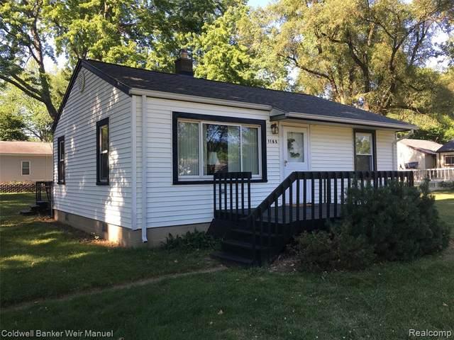 1185 South Eddie Street, Walled Lake, MI 48390 (#2200050783) :: Novak & Associates