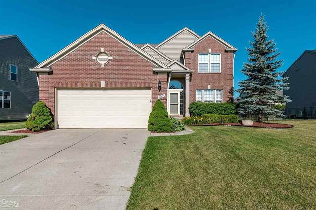 56857 Lindale Ave, Macomb Twp, MI 48042 (#58050016345) :: The Alex Nugent Team | Real Estate One