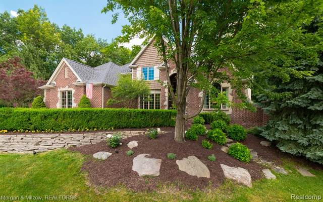 8856 Hunters Creek Court, Independence Twp, MI 48348 (#2200050909) :: The Alex Nugent Team | Real Estate One