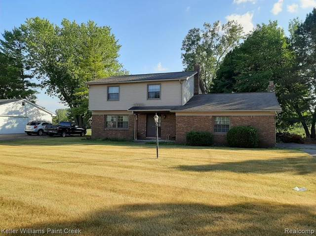 22 Brookfield Drive, Oxford Twp, MI 48371 (#2200050930) :: GK Real Estate Team