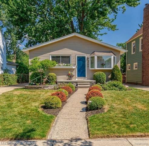 709 Bauman Avenue, Royal Oak, MI 48073 (#2200050931) :: The Alex Nugent Team   Real Estate One
