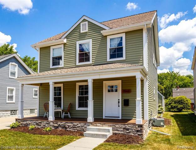 3566 Gardner Avenue, Berkley, MI 48072 (#2200050987) :: Alan Brown Group