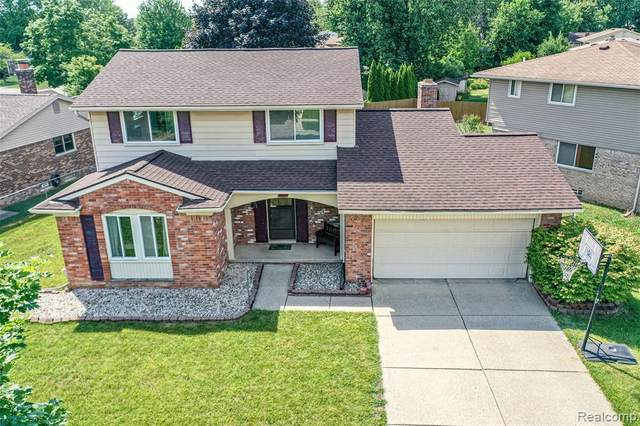 6421 Raintree Drive, Canton Twp, MI 48187 (#2200051024) :: The Alex Nugent Team | Real Estate One