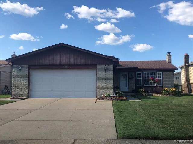 3209 Charity Dr, Sterling Heights, MI 48310 (MLS #2200051219) :: The Toth Team
