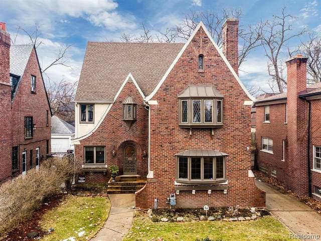 18085 Parkside Street, Detroit, MI 48221 (#2200051266) :: The BK Agency