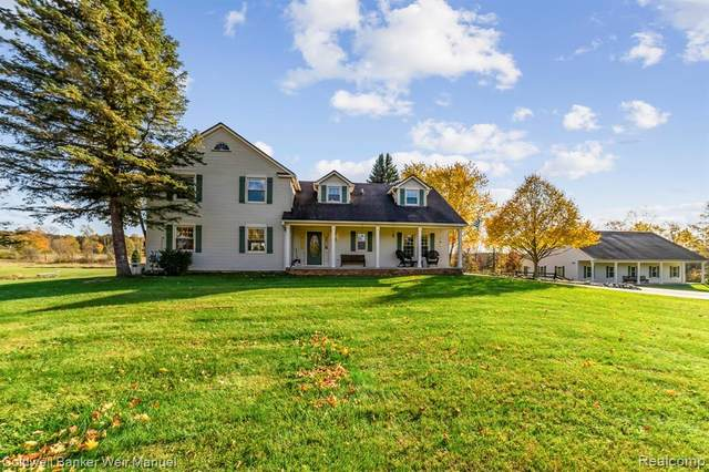 3180 Casey Road, Dryden Twp, MI 48455 (#2200051281) :: The Mulvihill Group