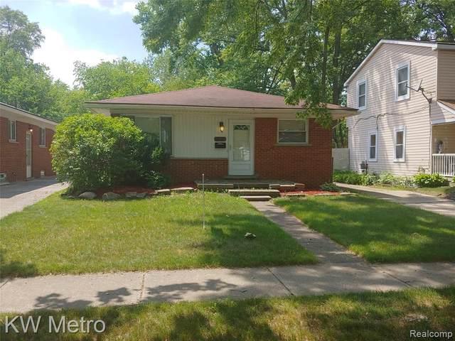 19427 Rensellor Street, Livonia, MI 48152 (#2200051380) :: Novak & Associates