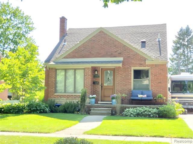 11411 Cranston Street, Livonia, MI 48150 (#2200051397) :: Novak & Associates