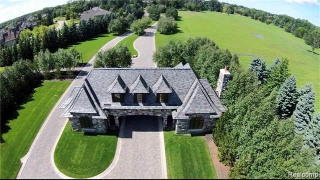 2701 Turtle Ridge Drive, Bloomfield Twp, MI 48302 (#2200051508) :: Alan Brown Group