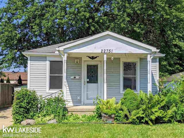 22751 Piper Ave, Eastpointe, MI 48021 (MLS #58050016604) :: The John Wentworth Group
