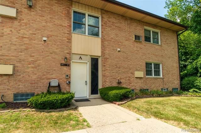 1199 S Sheldon Rd # A-4, Plymouth, MI 48170 (#2200051784) :: GK Real Estate Team