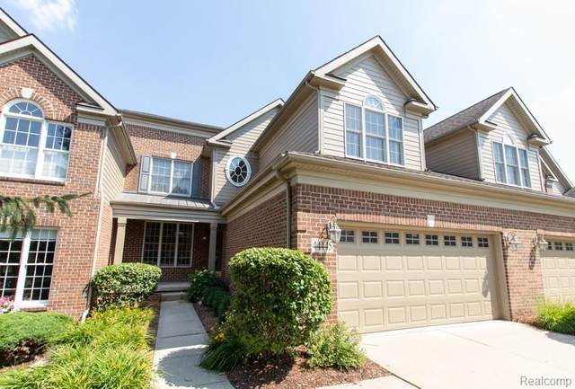 44445 Broadmoor Boulevard #180, Northville Twp, MI 48168 (#2200051933) :: GK Real Estate Team