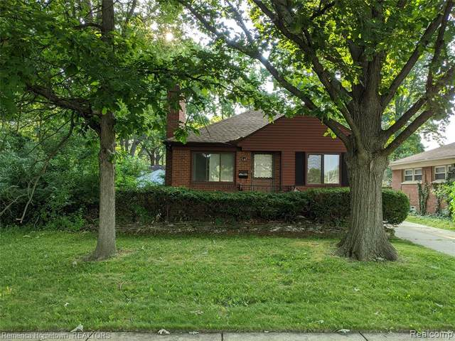 16152 Kinloch, Redford Twp, MI 48240 (#2200052268) :: The BK Agency