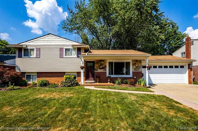 37508 Kingsbury Street, Livonia, MI 48154 (#2200052505) :: Alan Brown Group