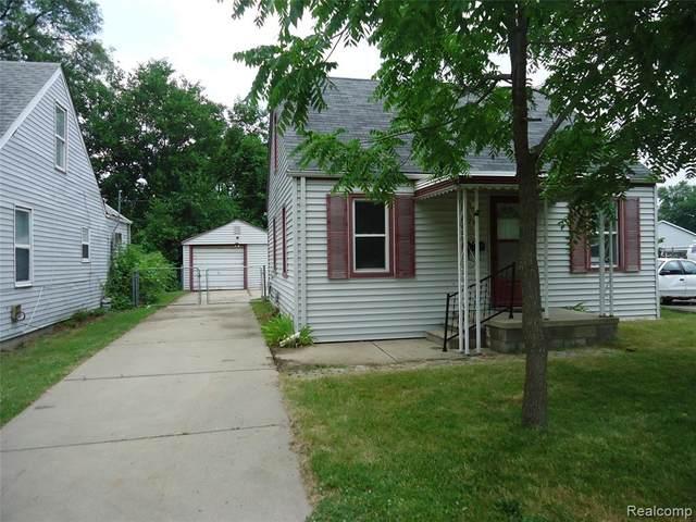 1621 E 11 MILE Road, Madison Heights, MI 48071 (#2200052572) :: Alan Brown Group