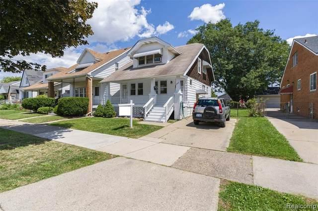 7512 Maple Street, Dearborn, MI 48126 (#2200052950) :: The BK Agency