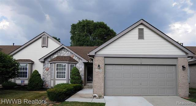 42278 Bayberry, Clinton Twp, MI 48038 (#2200053094) :: Alan Brown Group