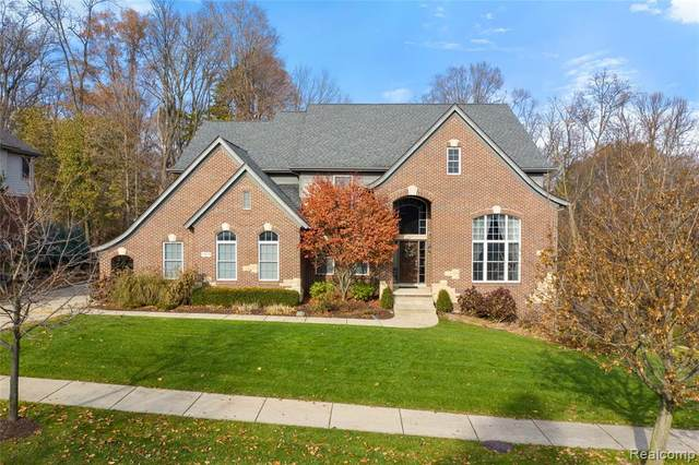 44258 Cypress Point Drive, Northville Twp, MI 48168 (#2200053170) :: Alan Brown Group