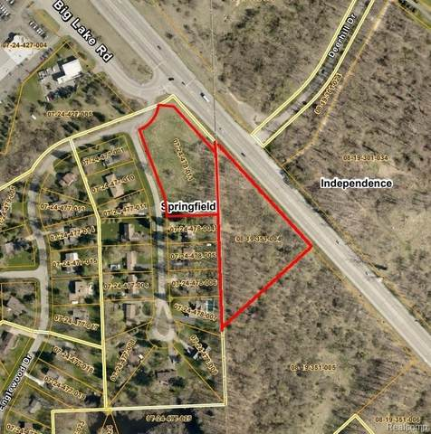 V/L Dixie Highway, Independence Twp, MI 48346 (#2200053193) :: The Mulvihill Group