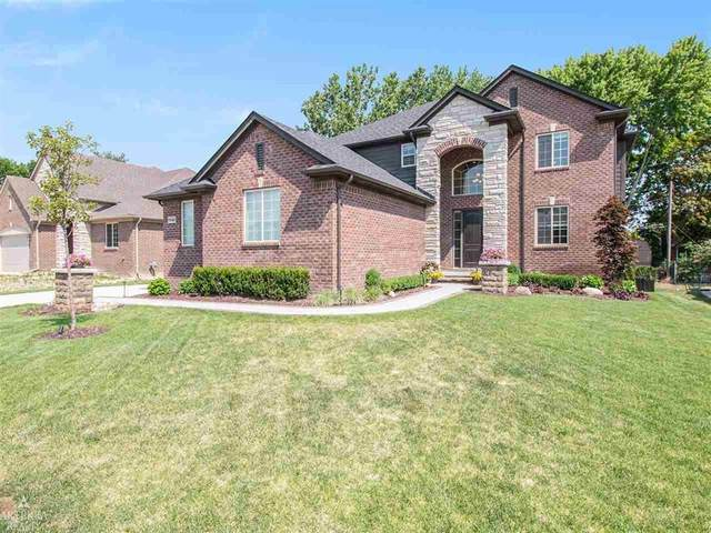 7061 Terrace Ct., Shelby Twp, MI 48317 (#58050017023) :: GK Real Estate Team