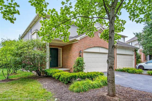 42905 River Bend Dr #1, Plymouth, MI 48170 (#2200053288) :: GK Real Estate Team