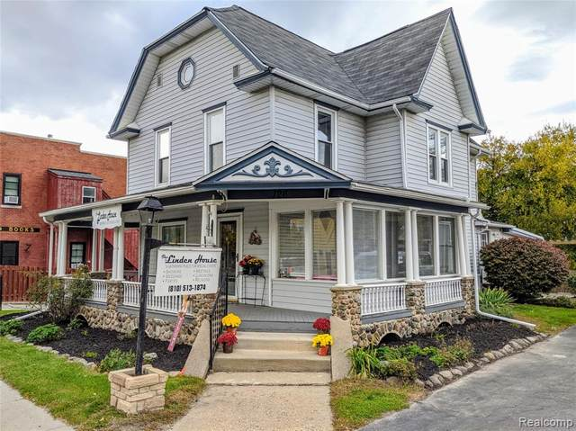 126 N Bridge Street, Linden, MI 48451 (#2200053373) :: GK Real Estate Team