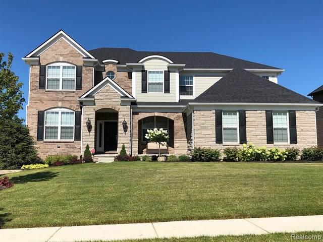 51626 Morgan Drive, Lyon Twp, MI 48178 (#2200053514) :: Duneske Real Estate Advisors