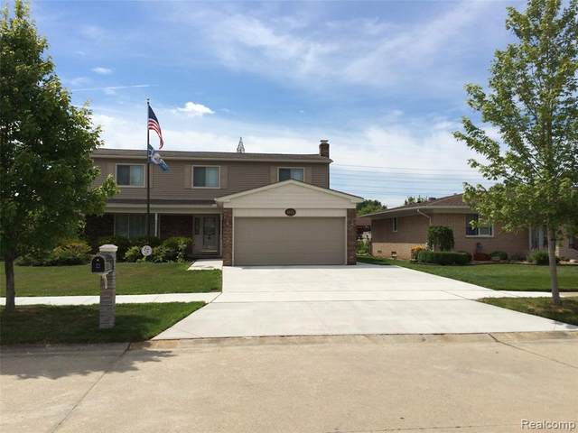 44175 Duchess Drive Drive, Canton Twp, MI 48187 (#2200053757) :: GK Real Estate Team