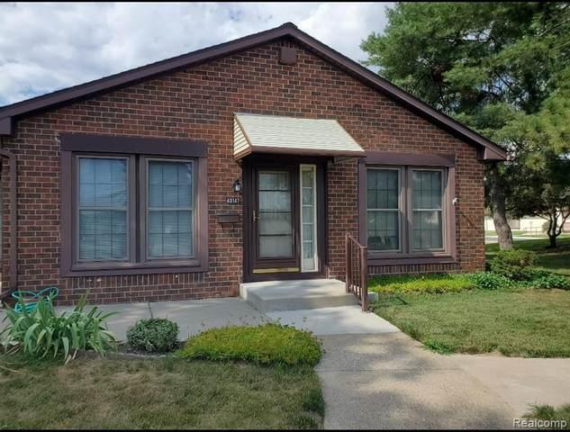 40147 Newport Drive #342, Plymouth Twp, MI 48170 (#2200053814) :: Duneske Real Estate Advisors